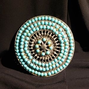 Accessories - Turquoise Belt Buckle
